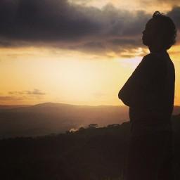 Senja di Gunung Kidul
